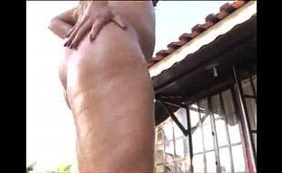 Penetrando a rola na buceta de mulher gorda